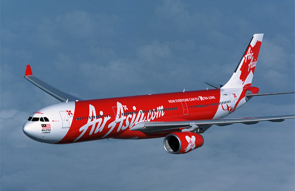 Armada Airbus A330-300 milik AirAsia X.
