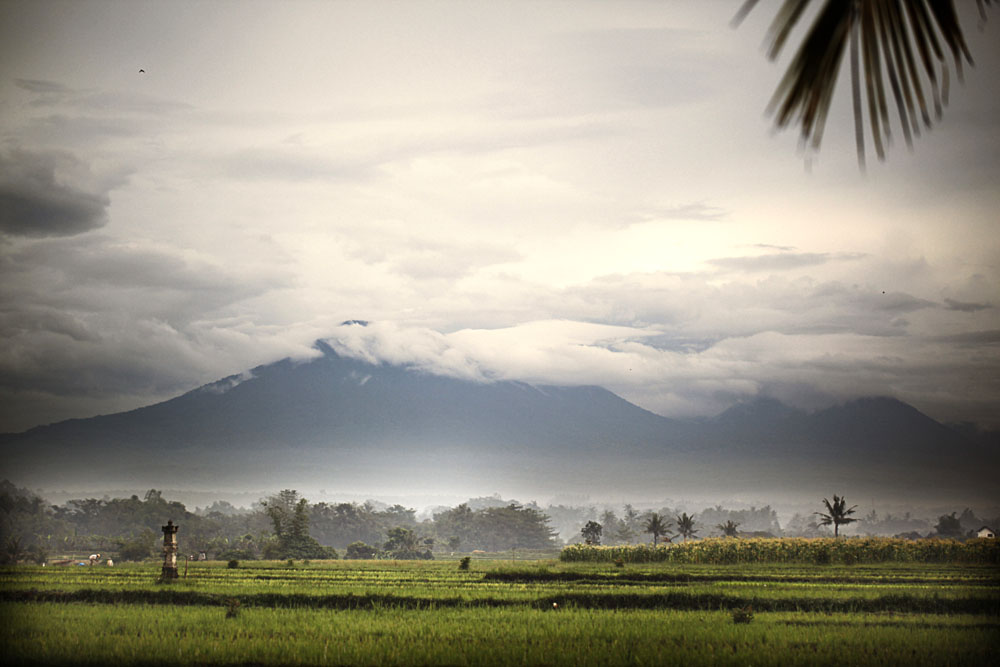 Pemandangan sublim dari Alila Villas Soori.