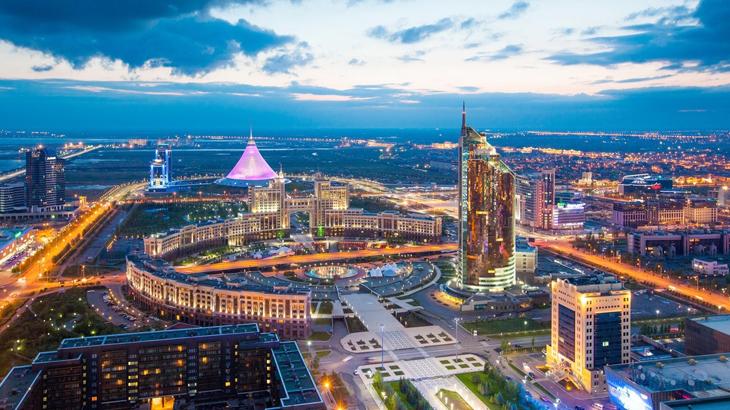 astana, ibu kota kazakhstan