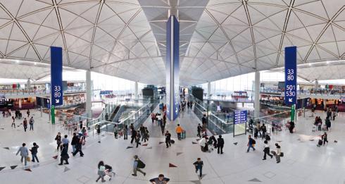 Suasana di dalam Terminal 1.