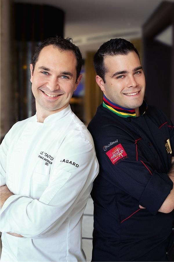 Dua koki tampan ini akan menyajikan hidangan Prancis spesial di Ju-Ma-Na.