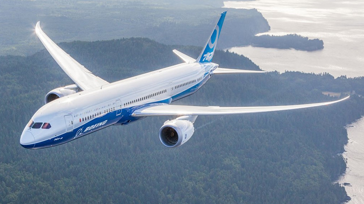 Pesawat Boeing 787 Dreamliner.