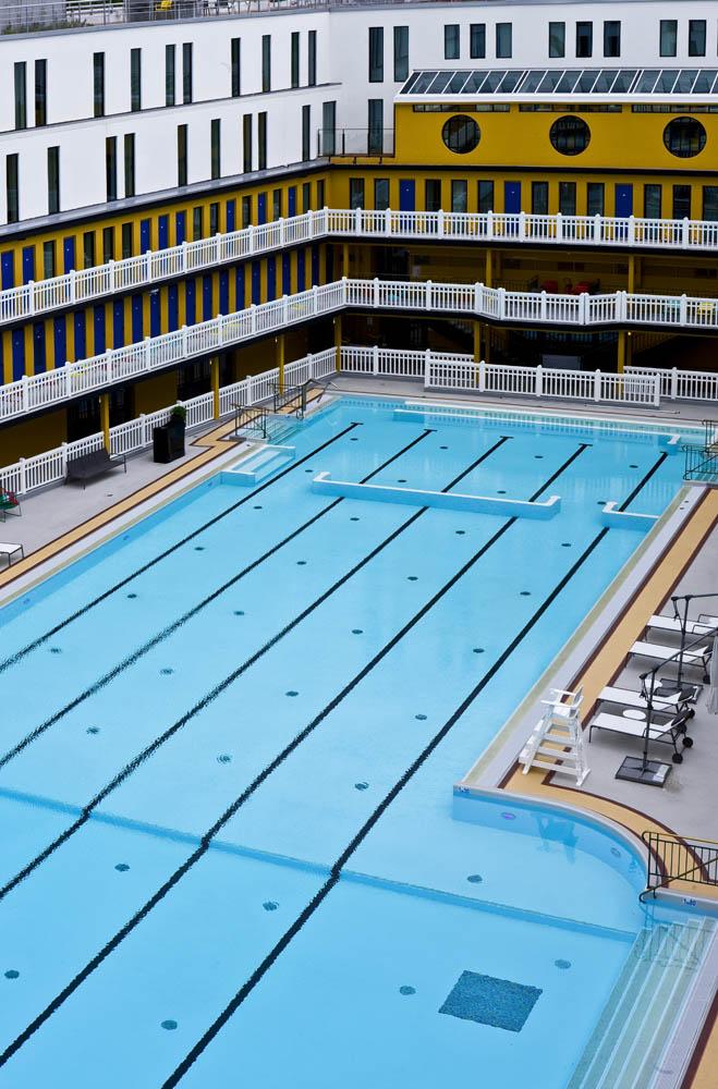 Kolam ini pernah digunakan sebagai lokasi pemotretan bikini pertama di dunia.