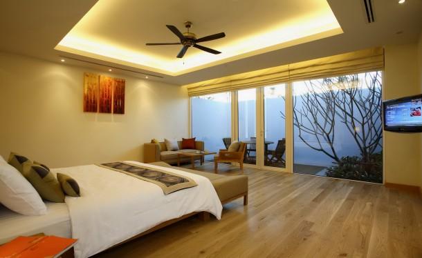 Kamar Luxury Suite yang ditawarkan.