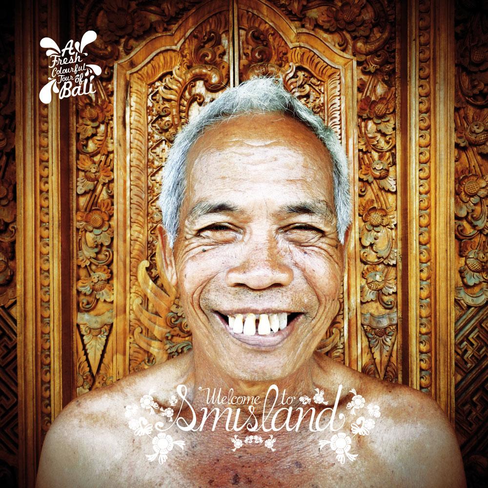 Buku ini menampilkan lelucon yang terinspirasi hal-hal yang bisa ditemui sehari-hari di Bali.