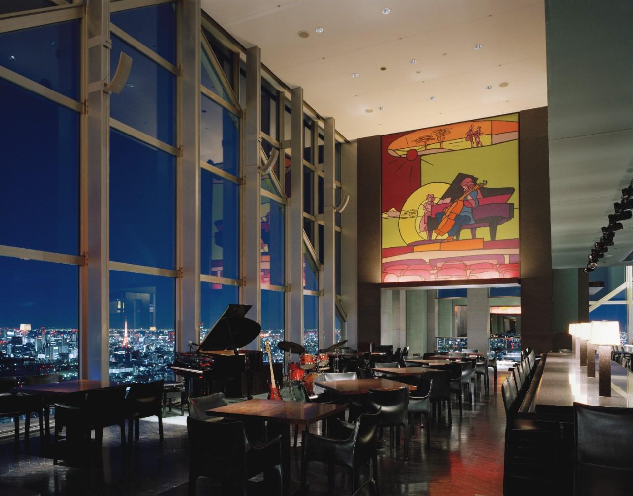 New York grill and Bar salah satu restoran di Park Hyatt Tokyo.