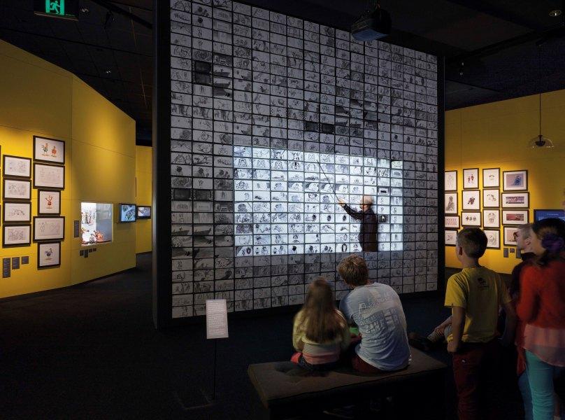 Pameran DreamWorks Animation ini juga akan menampillkan video-video proses pembuatan yang dikemas menarik. (Foto: ACMI/Mark Ashkanasy)