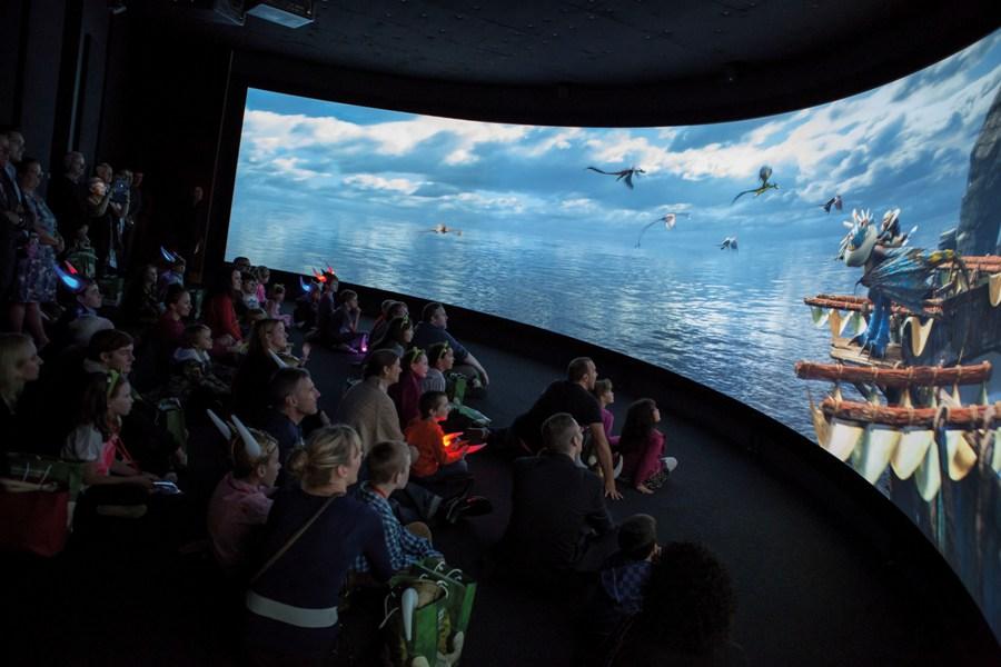 Terdapat juga studio layar lebar untuk memutar film-film produksi DreamWorks Animation. (Foto: ACMI/Mark Ashkanasy)