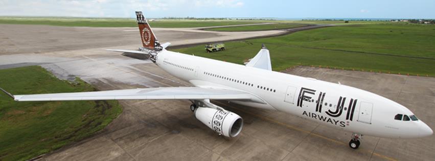 Wajah baru pesawat Fiji Airways.