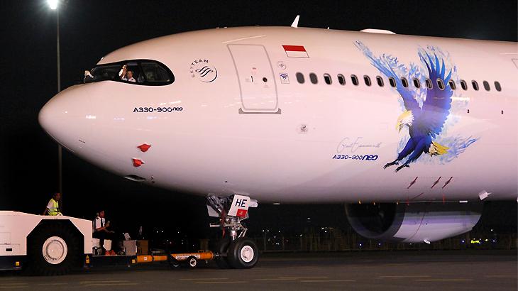 Airbus 330-900 Neo Garuda Indonesia