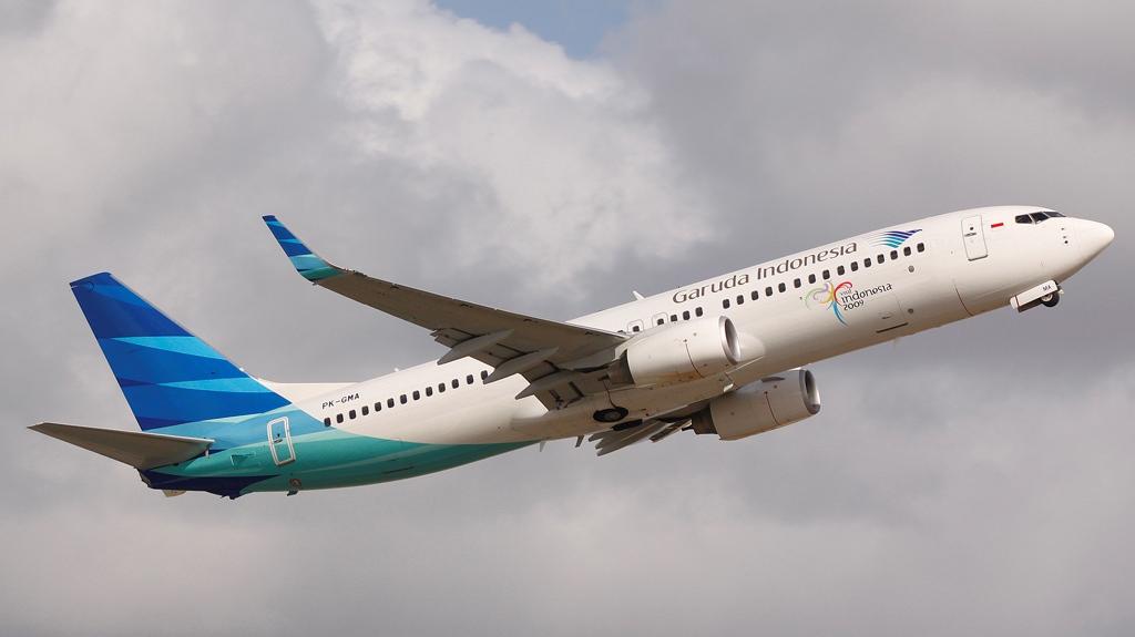 Boeing 737-800 milik Garuda Indonesia.