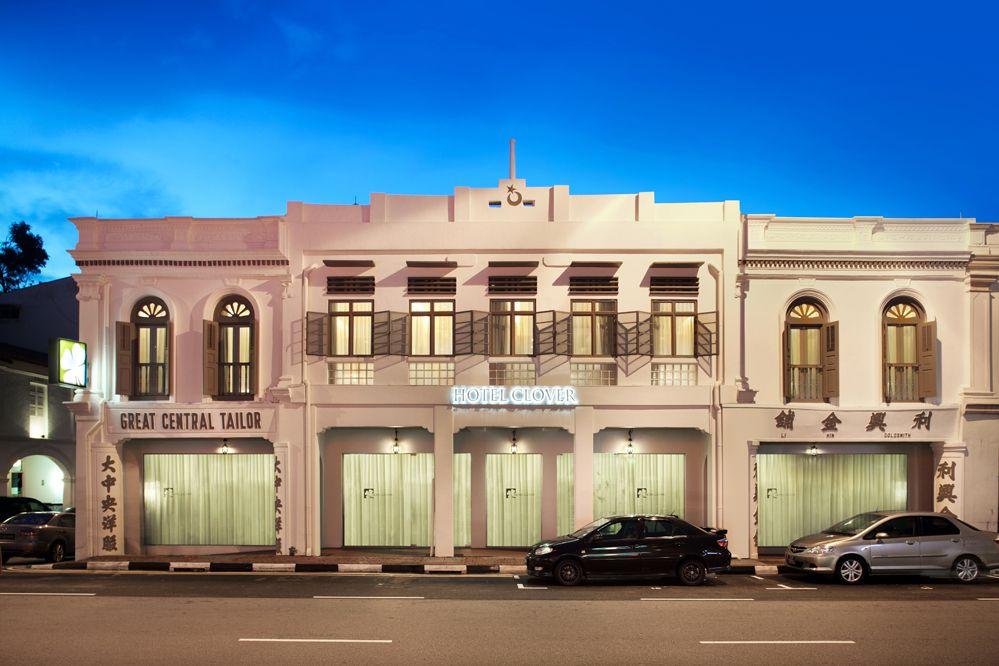Fasad Hotel Clover.