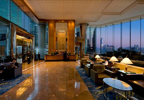 Lobi JW Marriott Hong Kong.