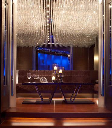 Ruang privat di Riedel Room @Q88.