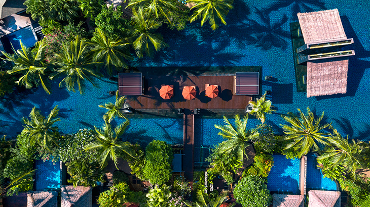 lagoon villas view