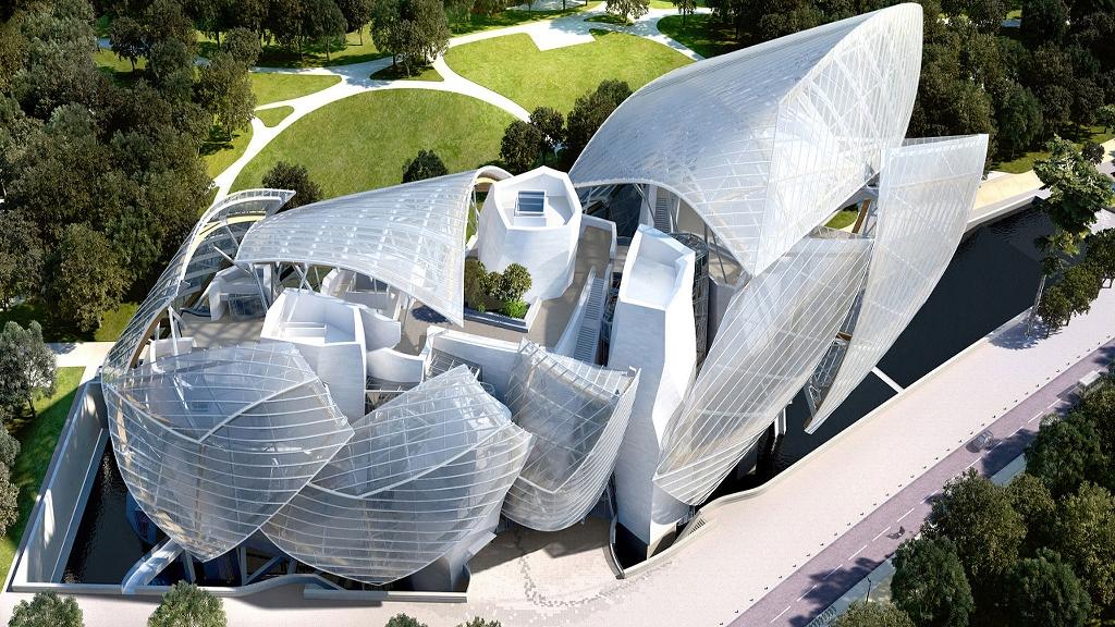 Atap bangunan dengan gaya yang menabrak pakem arsitektur post-modern.