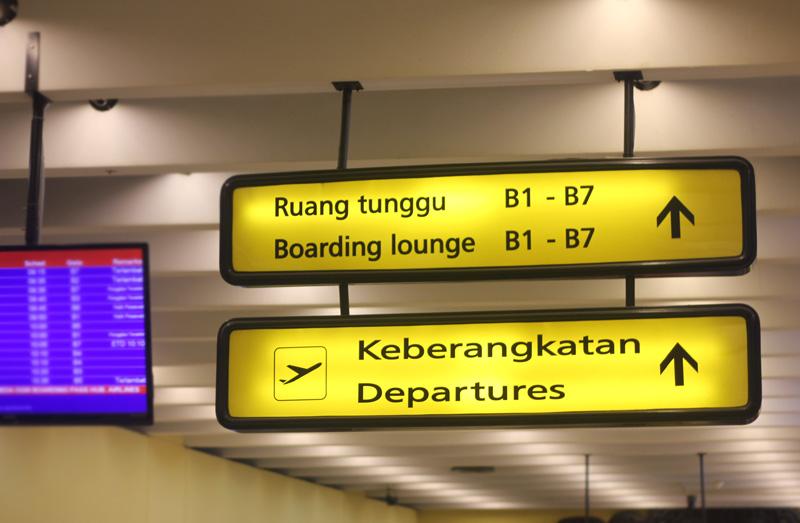 Kenaikan tarif airport tax di lima bandara PT Angkasa Pura I berlaku mulai 1 April 2014.
