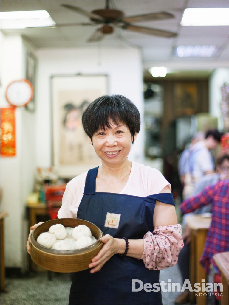 Pamusaji Xiao Ming, kedai bao paling tersohor di kalangan warga lokal.