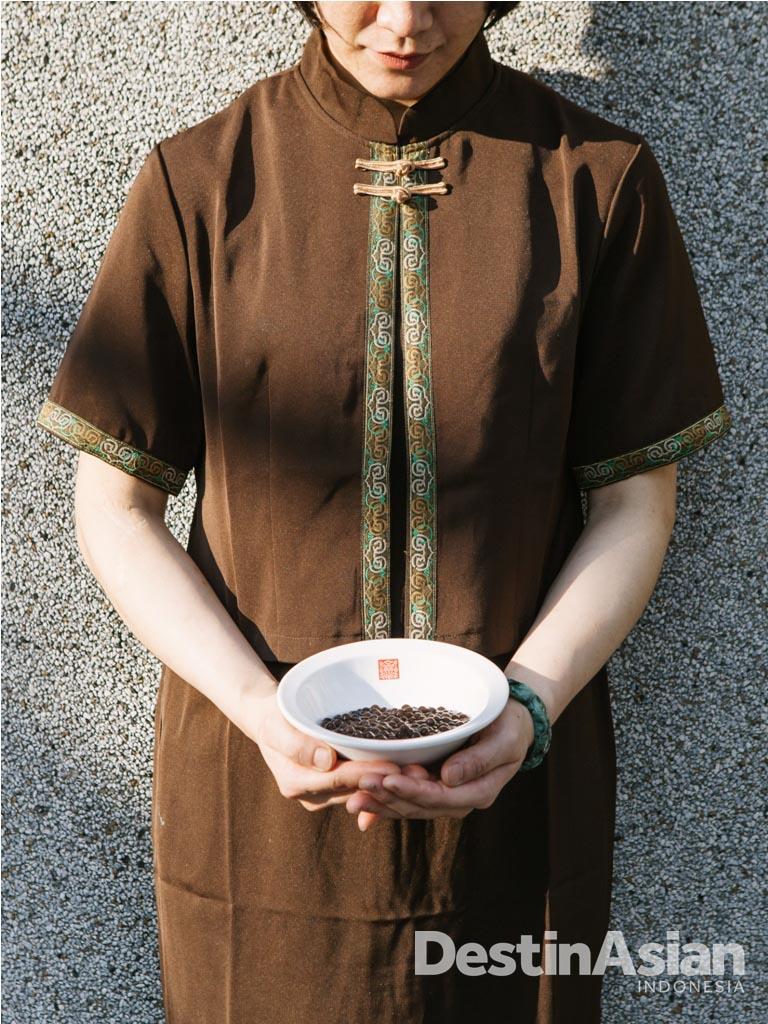 Mutiara bubble tea. Yang asli dan tanpa pengawet teksturnya lembut serta hanya bertahan tiga jam setelah dibuat.