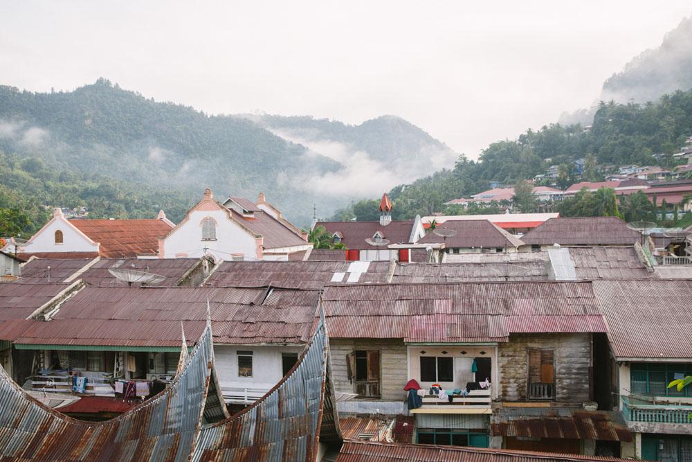 Pemandangan kota Sawahlunto.