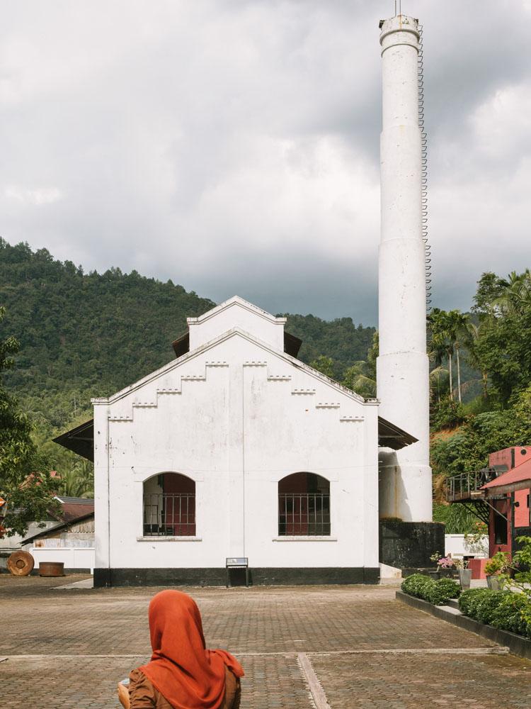 Museum Gudang Ransoem di Sawahlunto.