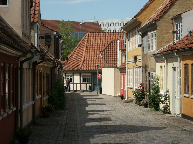 Suasana di kota Odense, Denmark. Tahun ini, Denmark duduk di peringkat kedua sebagai negara teraman di dunia versi GPI.