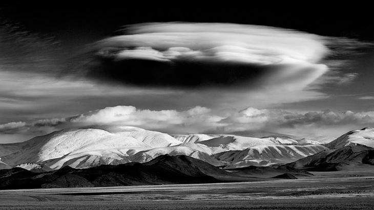 panorama pegunungan mongolia