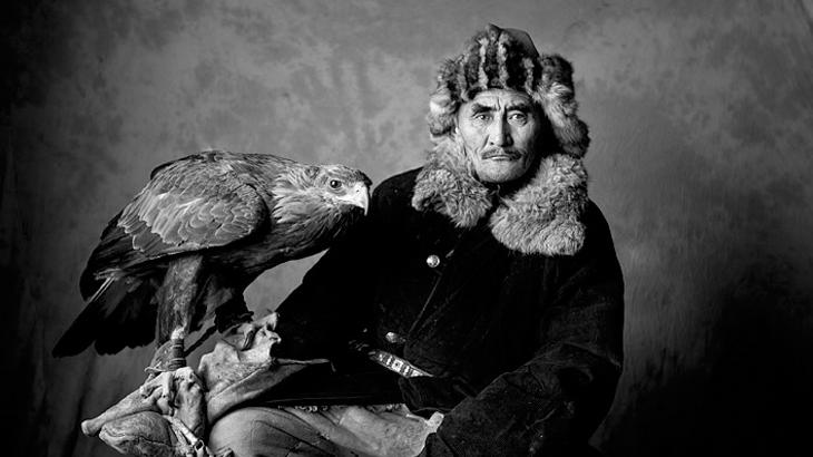 pemburu dari suku kazakh
