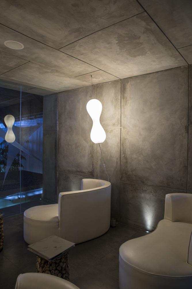 Lounge di Cocoon Spa.