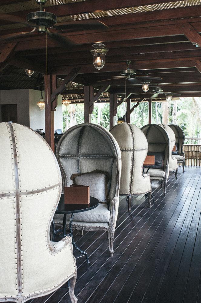 Area lobi DaLa Spa. Di sini juga bisa digunakan sebagai tempat makan malam romantis dengan menu sehat.