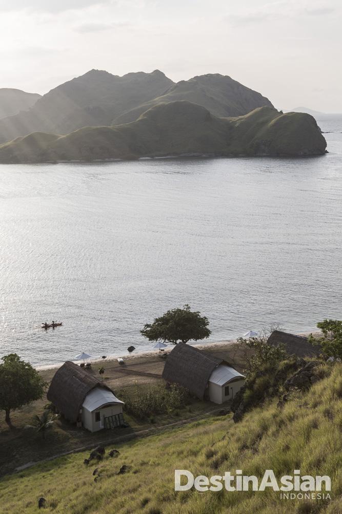 Pemandangan di Komodo Resort.