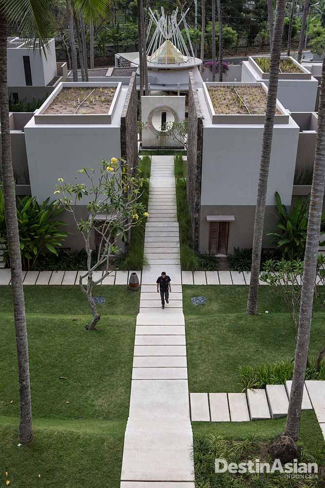 Svarga Resort, hotel anyar dengan desain modern.
