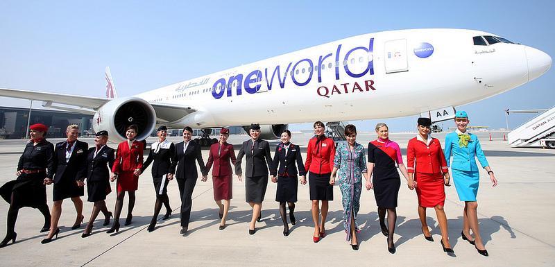 Qatar Airways menjadi anggota termuda.