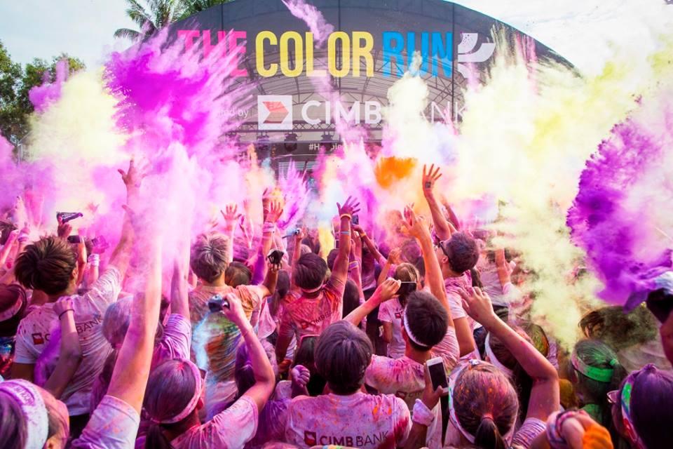 Ini kedua kalinya Color Run diadakan di Indonesia.
