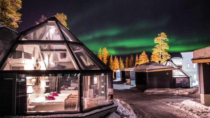 aurora borealis terbaik