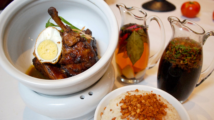 The Flavours of the Philippines at SATOO - Chicken Adobo
