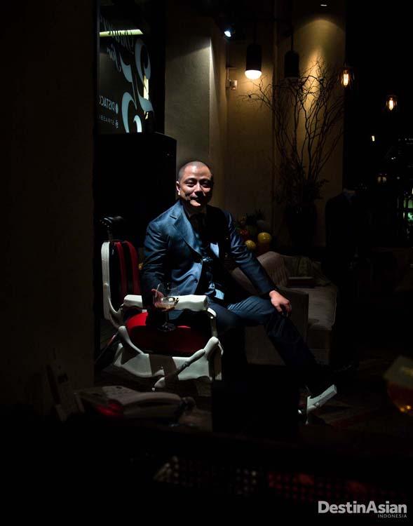 Jeff Huang, salah satu pengusaha muda lokal.