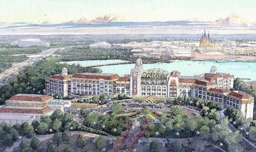 Hotel lain yang terinspirasi gaya Art Nouveau juga akan menjadi andalan di sini.
