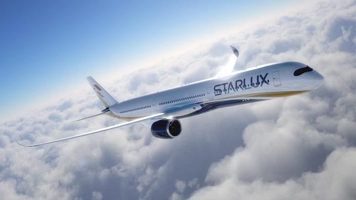 starlux airlines, maskapai baru asia