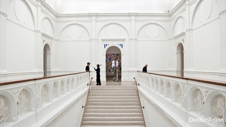 Interior Stedelijk Museum.
