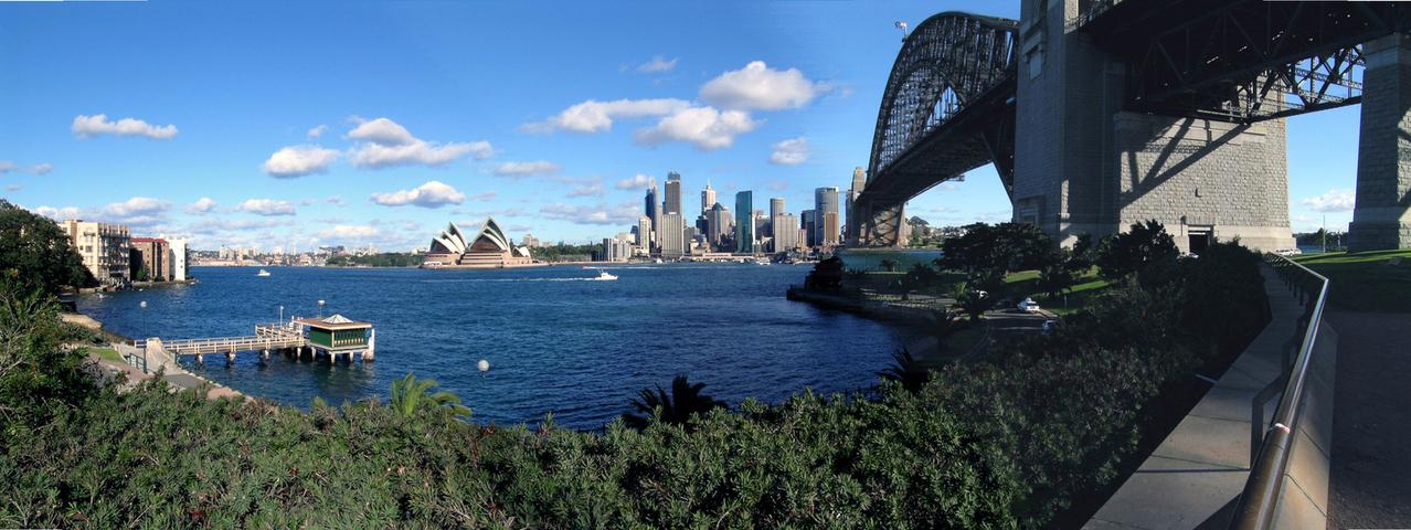 Restoran pop up ini bakal menempati halaman gedung baru di Sydney Harbour.