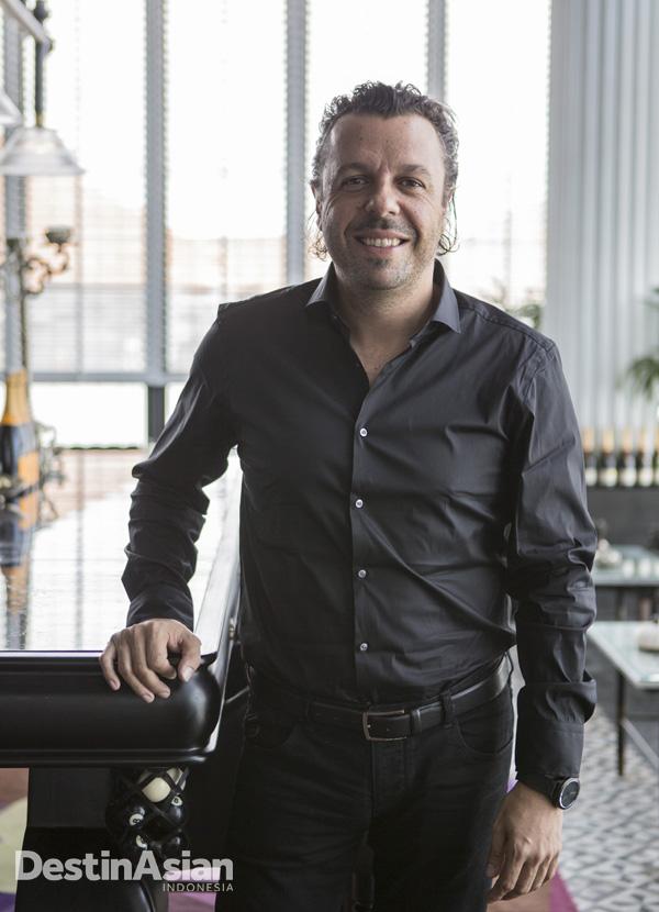 Robert Marchetti, sang kurator yang pernah memasak untuk artis sekaliber Nicole Kidman.