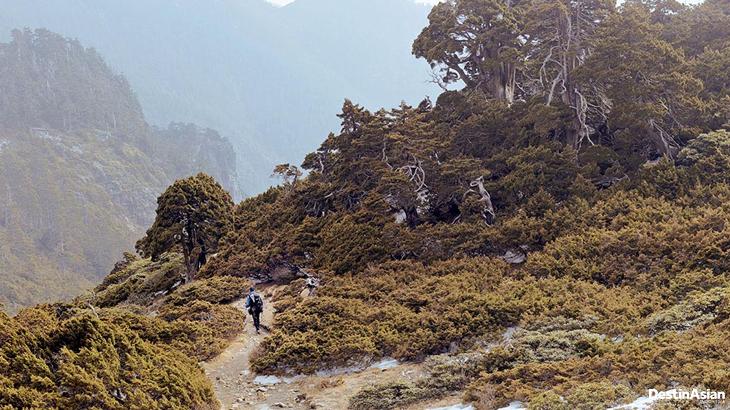 trekking taiwan