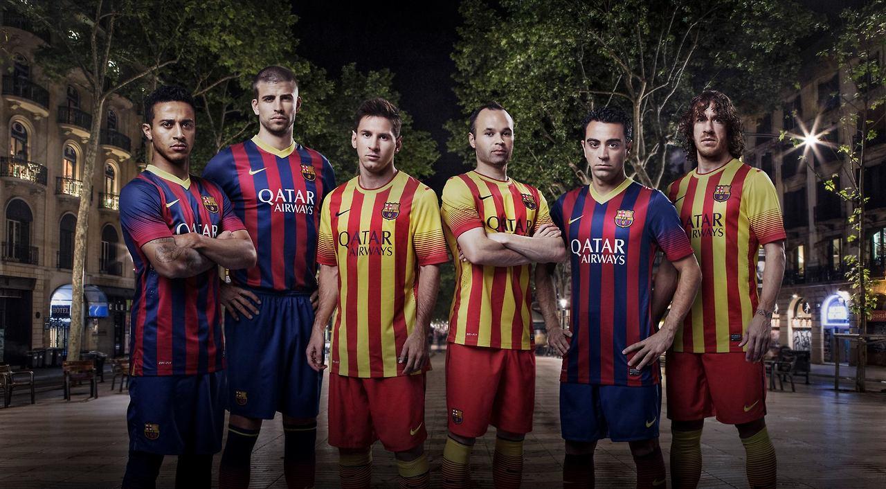 Seragam baru FC Barcelona.