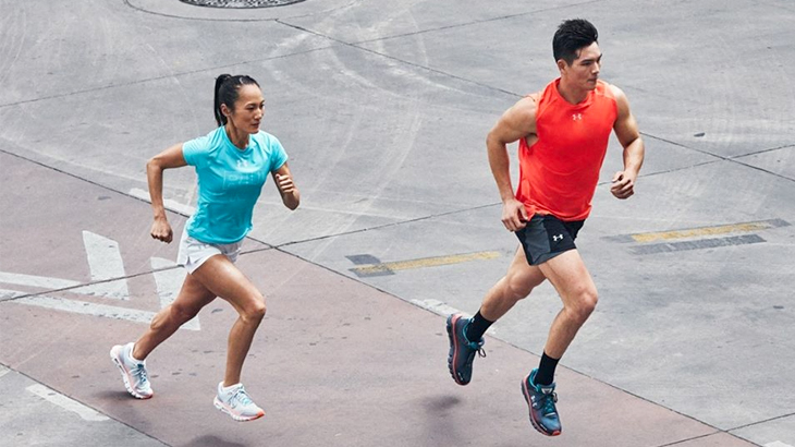 under armour charged run 2019