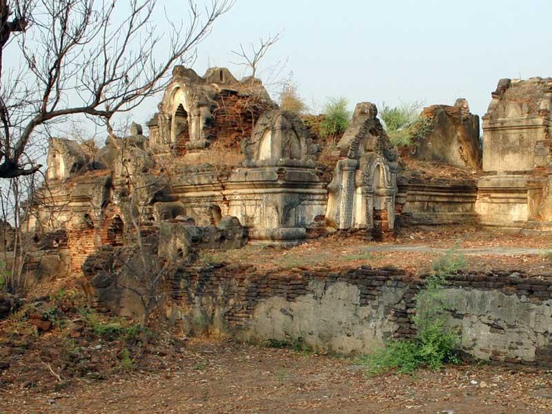 Situs Kota Tua Pyu di Myanmar yang dulunya kota sukses Kerajaan Pyu.