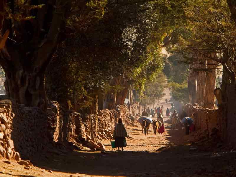 Qhapaq Ñan Andean, jalur Inca kuno yang mengular sepanjang 30.000 kilometer.