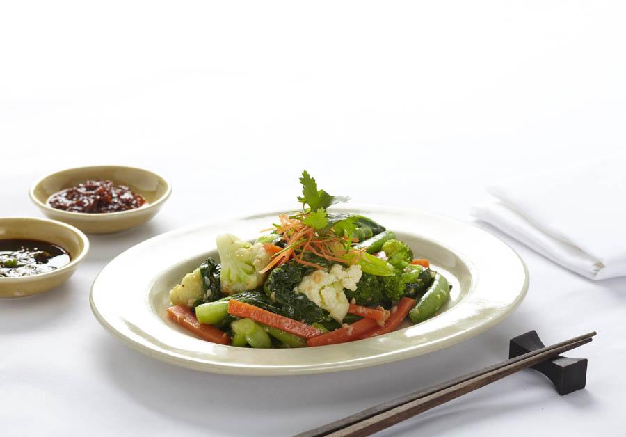Tumis sayuran cocok untuk para vegetarian.